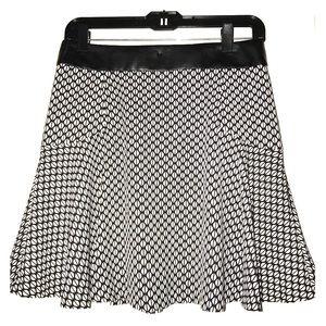 Banana Republic Geometric Mini Skirt NWT